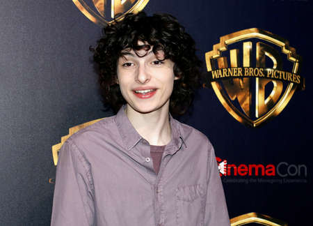 Finn Wolfhard at the 2019 CinemaCon - Warner Bros. Pictures 'The Big Picture' Presentation held at the Caesars Palace in Las Vegas, USA on April 2, 2019. Фото со стока - 120753629