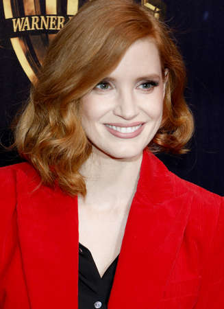 Jessica Chastain at the 2019 CinemaCon - Warner Bros. Pictures 'The Big Picture' Presentation held at the Caesars Palace in Las Vegas, USA on April 2, 2019. Фото со стока - 120753658