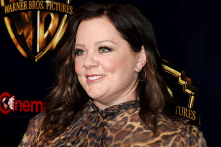 Melissa McCarthy at the 2019 CinemaCon - Warner Bros. Pictures The Big Picture Presentation held at the Caesars Palace in Las Vegas, USA on April 2, 2019.