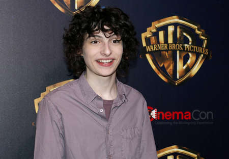 Finn Wolfhard at the 2019 CinemaCon - Warner Bros. Pictures 'The Big Picture' Presentation held at the Caesars Palace in Las Vegas, USA on April 2, 2019. Фото со стока - 120753695