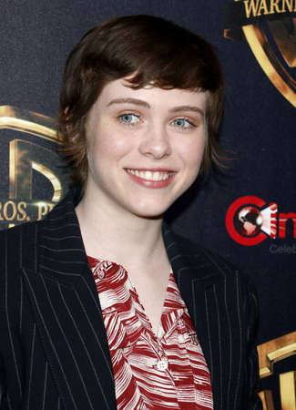 Sophia Lillis at the 2019 CinemaCon - Warner Bros. Pictures The Big Picture Presentation held at the Caesars Palace in Las Vegas, USA on April 2, 2019.