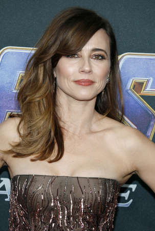 Linda Cardellini at the World premiere of Avengers: Endgame held at the LA Convention Center in Los Angeles, USA on April 22, 2019. Editorial