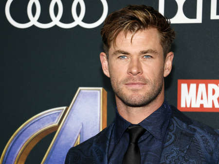 Chris Hemsworth at the World premiere of Avengers: Endgame held at the LA Convention Center in Los Angeles, USA on April 22, 2019.