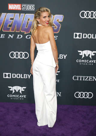 Elsa Pataky at the World premiere of 'Avengers: Endgame' held at the LA Convention Center in Los Angeles, USA on April 22, 2019.
