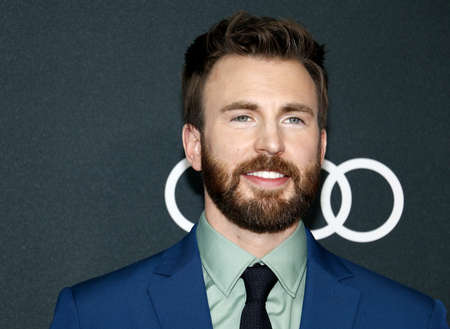 Chris Evans at the World premiere of Avengers: Endgame held at the LA Convention Center in Los Angeles, USA on April 22, 2019.