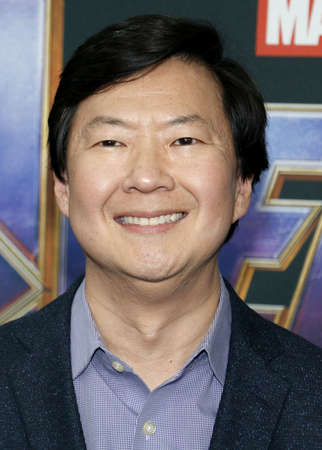 Ken Jeong at the World premiere of 'Avengers: Endgame' held at the LA Convention Center in Los Angeles, USA on April 22, 2019. Editorial