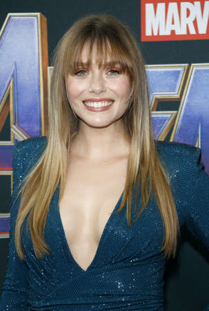 Elizabeth Olsen at the World premiere of 'Avengers: Endgame' held at the LA Convention Center in Los Angeles, USA on April 22, 2019.