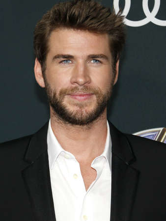 Liam Hemsworth at the World premiere of Avengers: Endgame held at the LA Convention Center in Los Angeles, USA on April 22, 2019.