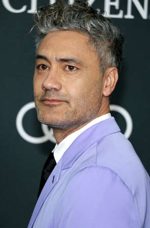 Taika Waititi at the World premiere of Avengers: Endgame held at the LA Convention Center in Los Angeles, USA on April 22, 2019.