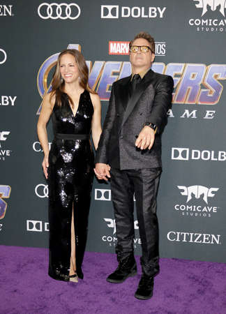 Robert Downey Jr. and Susan Downey at the World premiere of 'Avengers: Endgame' held at the LA Convention Center in Los Angeles, USA on April 22, 2019.