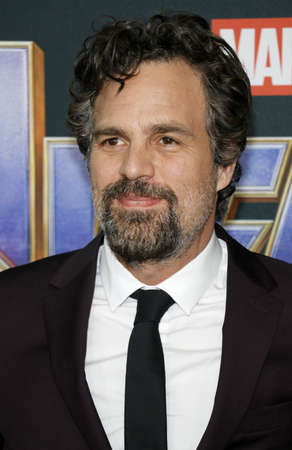 Mark Ruffalo at the World premiere of Avengers: Endgame held at the LA Convention Center in Los Angeles, USA on April 22, 2019.