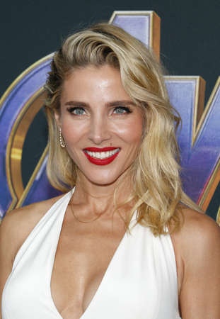 Elsa Pataky at the World premiere of Avengers: Endgame held at the LA Convention Center in Los Angeles, USA on April 22, 2019.