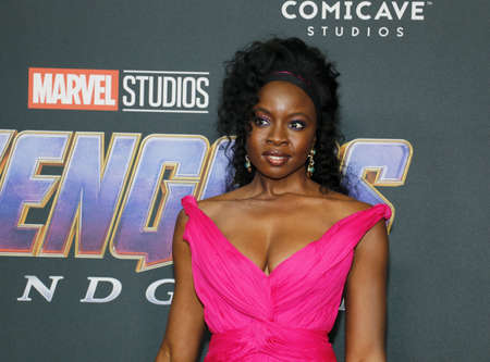 Danai Gurira at the World premiere of Avengers: Endgame held at the LA Convention Center in Los Angeles, USA on April 22, 2019.