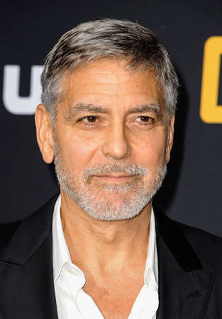 George Clooney at the U.S. Premiere of Hulu's 'Catch-22' held at the TCL Chinese Theatre in Hollywood, USA on May 7, 2019.