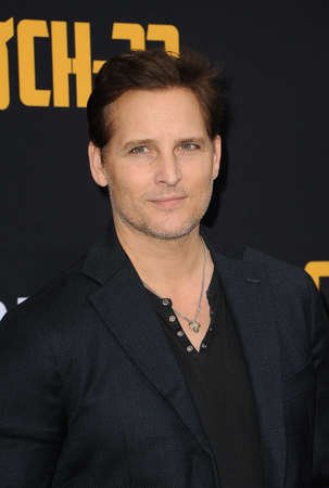 Peter Facinelli at the U.S. Premiere of Hulu's 'Catch-22' held at the TCL Chinese Theatre in Hollywood, USA on May 7, 2019.