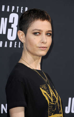 Asia Kate Dillon at the Los Angeles premiere of John Wick: Chapter 3 - Parabellum held at the TCL Chinese Theatre in Hollywood, USA on May 15, 2019. 에디토리얼