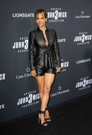 Halle Berry at the Los Angeles premiere of John Wick: Chapter 3 - Parabellum held at the TCL Chinese Theatre in Hollywood, USA on May 15, 2019.