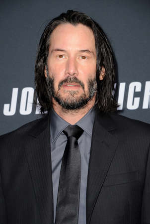 Keanu Reeves at the Los Angeles premiere of 'John Wick: Chapter 3 - Parabellum' held at the TCL Chinese Theatre in Hollywood, USA on May 15, 2019. Editorial