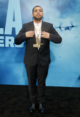 OShea Jackson Jr. at the Los Angeles premiere of Godzilla: King Of The Monsters held at the TCL Chinese Theatre in Hollywood, USA on May 18, 2019.