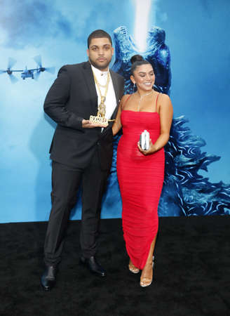 O'Shea Jackson Jr. at the Los Angeles premiere of 'Godzilla: King Of The Monsters' held at the TCL Chinese Theatre in Hollywood, USA on May 18, 2019. Фото со стока - 124413483