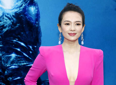 Zhang Ziyi at the Los Angeles premiere of 'Godzilla: King Of The Monsters' held at the TCL Chinese Theatre in Hollywood, USA on May 18, 2019. 新聞圖片