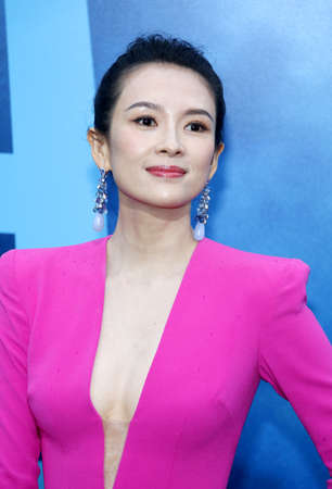 Zhang Ziyi at the Los Angeles premiere of Godzilla: King Of The Monsters held at the TCL Chinese Theatre in Hollywood, USA on May 18, 2019.