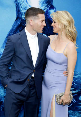 Zach Shields and Kelli Garner at the Los Angeles premiere of Godzilla: King Of The Monsters held at the TCL Chinese Theatre in Hollywood, USA on May 18, 2019.