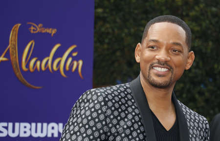 Will Smith at the Los Angeles premiere of 'Aladdin' held at the El Capitan Theatre in Hollywood, USA on May 21, 2019.