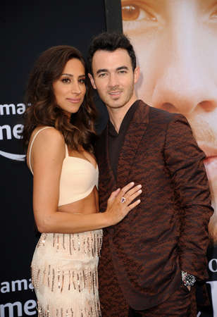 Kevin Jonas and Danielle Jonas at the premiere of Amazon Prime Videos Chasing Happiness held at the Regency Bruin Theatre in Westwood, USA on June 3, 2019. Editorial