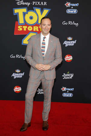 Tony Hale at the World premiere of 'Toy Story 4' held at the El Capitan Theater in Hollywood, USA on June 11, 2019. Editorial