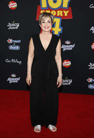 Annie Potts at the World premiere of 'Toy Story 4' held at the El Capitan Theater in Hollywood, USA on June 11, 2019.