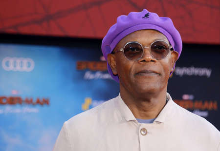 Samuel L. Jackson at the World premiere of Spider-Man Far From Home held at the TCL Chinese Theatre in Hollywood, USA on June 26, 2019.