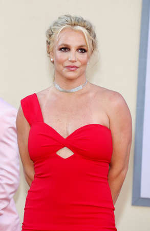 Britney Spears at the Los Angeles premiere of Once Upon a Time In Hollywood held at the TCL Chinese Theatre IMAX in Hollywood, USA on July 22, 2019.