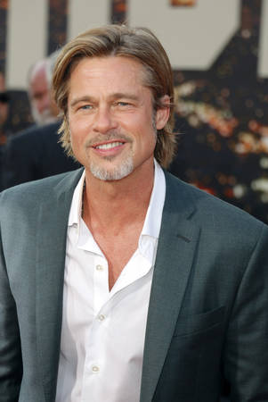 Brad Pitt at the Los Angeles premiere of Once Upon a Time In Hollywood held at the TCL Chinese Theatre IMAX in Hollywood, USA on July 22, 2019. Sajtókép