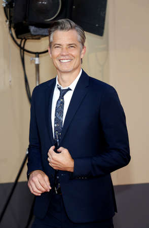 Timothy Olyphant at the Los Angeles premiere of 'Once Upon a Time In Hollywood' held at the TCL Chinese Theatre IMAX in Hollywood, USA on July 22, 2019.
