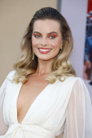 Margot Robbie at the Los Angeles premiere of 'Once Upon a Time In Hollywood' held at the TCL Chinese Theatre IMAX in Hollywood, USA on July 22, 2019.