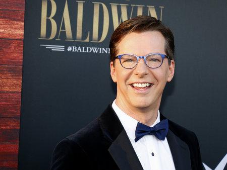 Sean Hayes au Comedy Central Roast d'Alec Baldwin au Saban Theatre de Beverly Hills, États-Unis, le 7 septembre 2019.