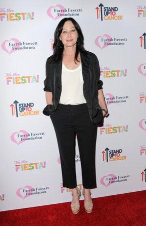 Shannen Doherty à la Tex-Mex Fiesta de la Farrah Fawcett Foundation qui s'est tenue au Wallis Annenberg Center à Beverly Hills, États-Unis, le 6 septembre 2019.