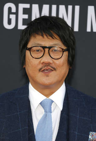 Benedict Wong at the Los Angeles premiere of Gemini Man held at the TCL Chinese Theatre in Hollywood, USA on October 6, 2019.