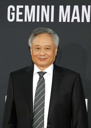 Ang Lee at the Los Angeles premiere of Gemini Man held at the TCL Chinese Theatre in Hollywood, USA on October 6, 2019.
