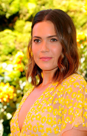 Mandy Moore at the 10th Annual Veuve Clicquot Polo Classic held at the Will Rogers State Historic Park in Pacific Palisades, USA on October 5, 2019.