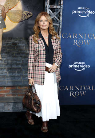 Roma Downey at the Los Angeles premiere of Amazon's 'Carnival Row' held at the TCL Chinese Theatre in Hollywood, USA on August 21, 2019. Sajtókép