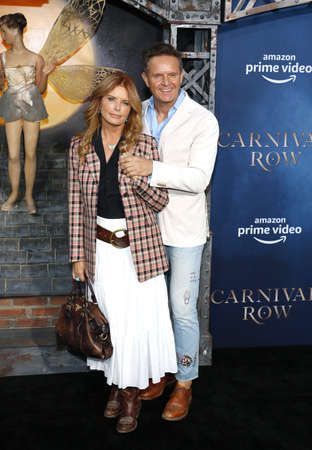 Roma Downey and Mark Burnett at the Los Angeles premiere of Amazon's 'Carnival Row' held at the TCL Chinese Theatre in Hollywood, USA on August 21, 2019.