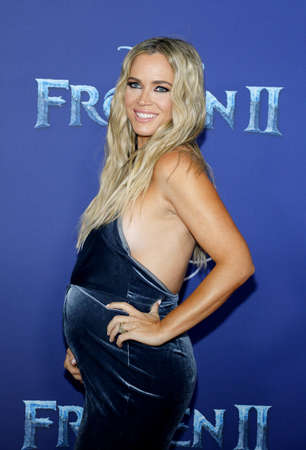 Teddi Jo Mellencamp at the World premiere of Disneys Frozen 2 held at the Dolby Theatre in Hollywood, USA on November 7, 2019.