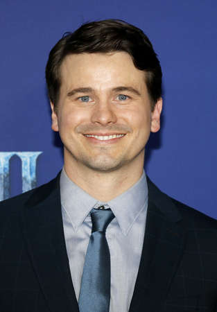 Jason Ritter at the World premiere of Disneys Frozen 2 held at the Dolby Theatre in Hollywood, USA on November 7, 2019.