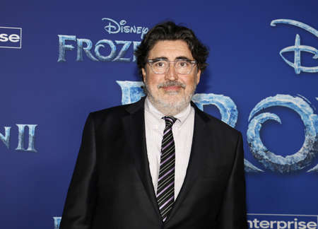 Alfred Molina at the World premiere of Disneys Frozen 2 held at the Dolby Theatre in Hollywood, USA on November 7, 2019.