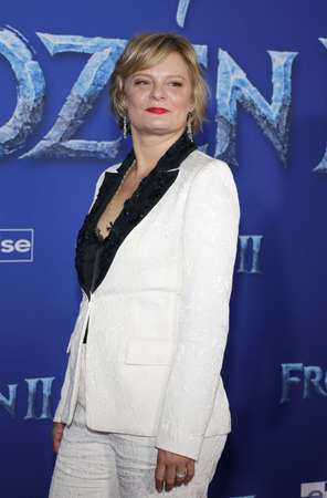 Martha Plimpton at the World premiere of Disneys Frozen 2 held at the Dolby Theatre in Hollywood, USA on November 7, 2019. Editöryel