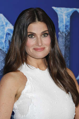Idina Menzel at the World premiere of Disneys Frozen 2 held at the Dolby Theatre in Hollywood, USA on November 7, 2019.