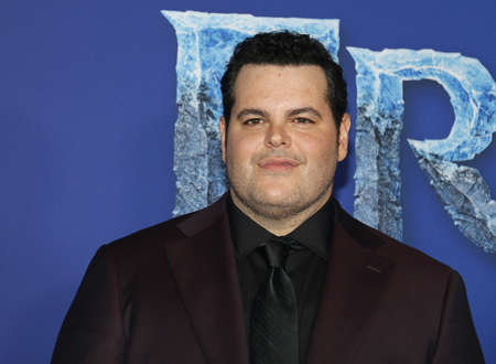 Josh Gad at the World premiere of Disneys Frozen 2 held at the Dolby Theatre in Hollywood, USA on November 7, 2019.