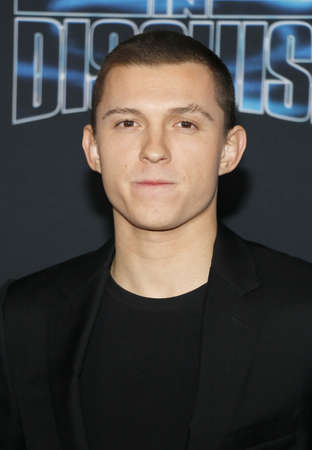 Tom Holland at the Los Angeles premiere of 'Spies In Disguise' held at the El Capitan Theatre in Hollywood, USA on December 4, 2019.